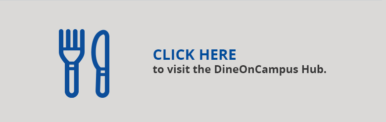 Visit the DineOnCampus Hub